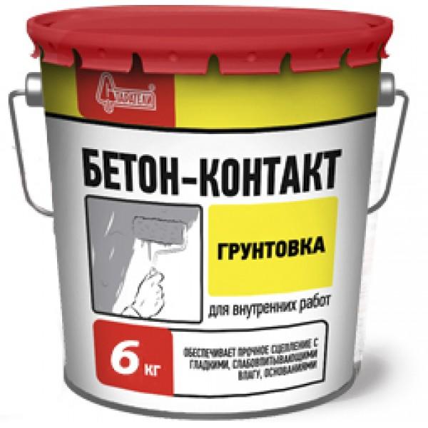 Грунтовка Старатели Бетон-контакт 6 кг
